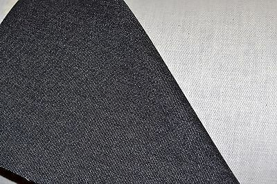 """Haartz Cambria Cloth 60"""" - By The Yard - 14Ca Charcoal - Simcon Rag Top Material"""