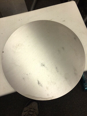 """Aluminum Disc T-6 6061 3/8"""" thick x 14 1/2"""" dia. disk / plate"""