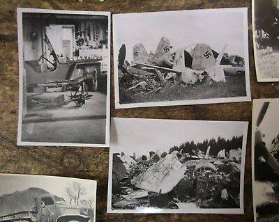 Lot of 300+ Original WW2 Photos Hitler's House, Downed Airplanes etc L@@K!