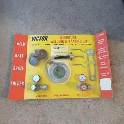 Victor Miniature Welding And Brazing Kit,model M-175