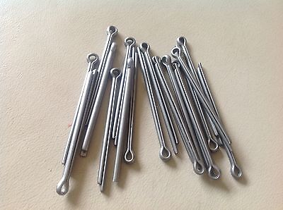"""3.2Mm (1/8) X 50Mm (2"""") A2 Stainless Steel Split Pins, Cotter Pins."""