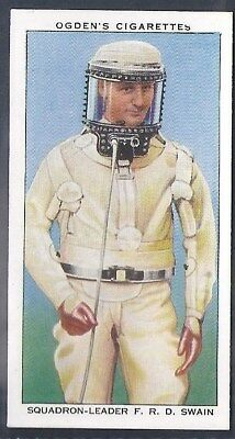 Ogdens-Champions Of 1936-#05- Aviation - Squadron Leader Swain