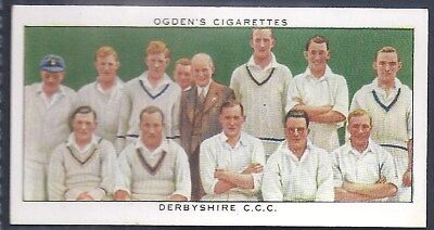 Ogdens-Champions Of 1936-#15- Cricket - Derbyshire County Cricket Champions