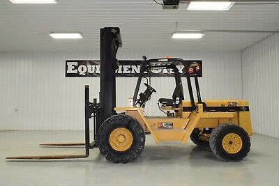 2002 EAGLE PICHER R80-10K FORKLIFT 10,000 LBS lift 1,397 hours Fork Positioners