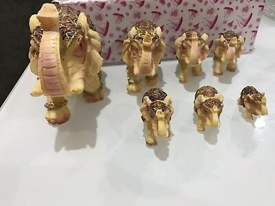 7 pice /set feng shui elegant elephant trunk lucky wealthy Fast Free Shipping !