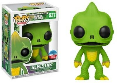2017 NYCC Exclusive Funko Pop! TV: Land of the Lost Sleestak 537 w/Sticker