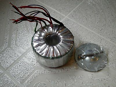 Toroidal Transformer 660VA  115/230V pri  5 / 9 / 9 / 21 V sec single phase