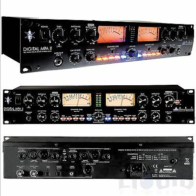 ART Digital MPA-II 2-Ch Mic Pre Amp w A/D Conversion MPA2 MPA 2 Preamp FREE 2DAY