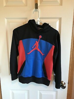 Youth Boys Nike Air Jordan Therma-Fit Sweatshirt/Hoodie Size Youth Large