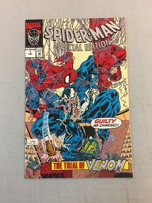 Spiderman Special Edition 1 The Trial Pf Venom Marvel Comics