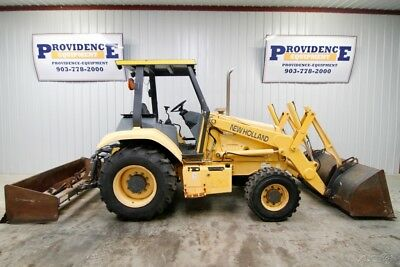 New Holland Lv80 4Wd Skip Loader Tractor, Gannon Box Blade, Rippers, 1727 Hrs!