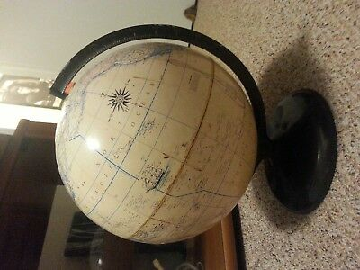 "12 ""globe by Rand Mcnally"