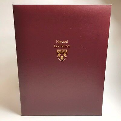 Harvard University Law School Certificate Holder by Jester Company Inc Brand New