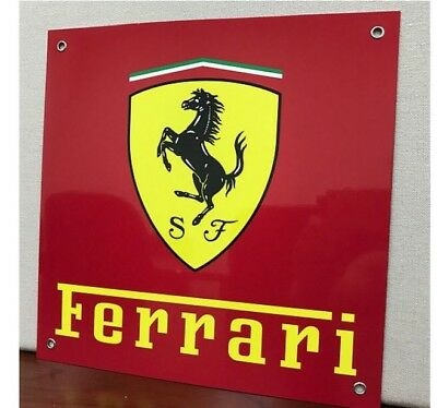 Ferrari Racing Vintage Reproduction Garage Sign