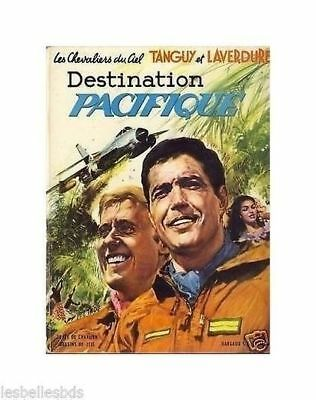 TANGUY LAVERDURE Destination Pacifique 1969 EO BE-