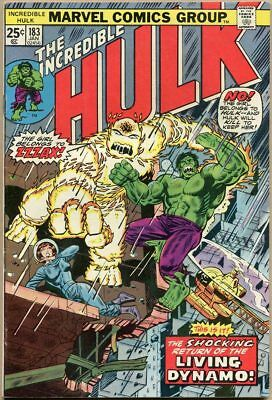 Incredible Hulk #183 - VF-