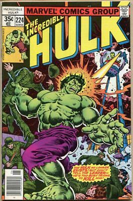 Incredible Hulk #224 - VF