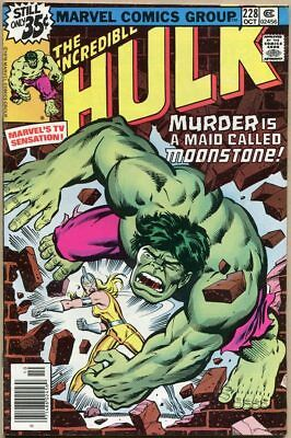 Incredible Hulk #228 - VG/FN
