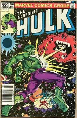 Incredible Hulk #270 - FN