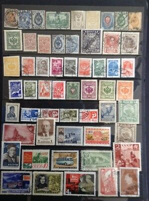 170+ Russian state stamps - All Different