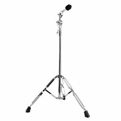 Cymbal Boom Stand Double Braced Legs Drum Hardware Arm Chrome Percussion BA