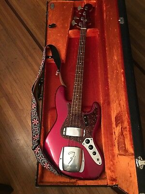 Fender Jazz Bass 1964 Relic Custom Ruby Red