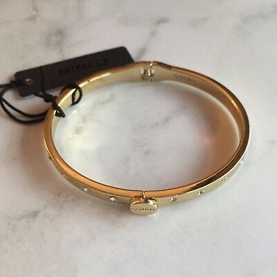Mimco Gold Brixton Bangle RPP $79.95 *New With Tags*