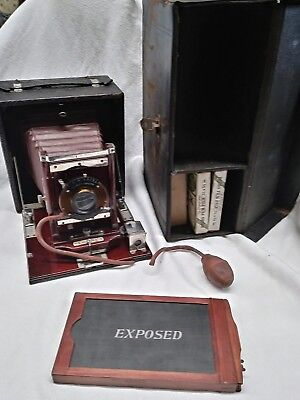Conley Camera Complete Set With Case And Exposed Film Carrier