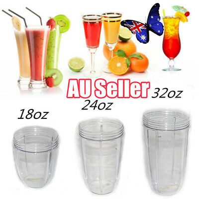 18/24/32OZ Juicer Cup Mug Clear Replacement Fr NutriBullet Nutri Bullet Juicer A
