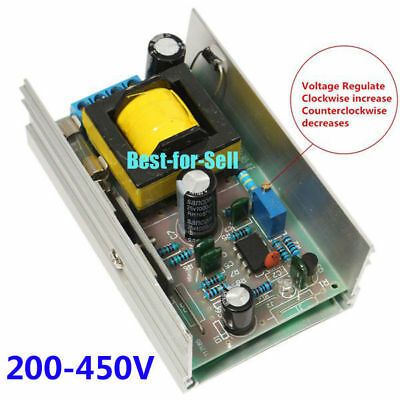 DC 12V-24V Step up to 200V-450V DC-DC High Voltage Boost Converter Power Module