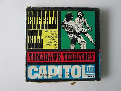 Buffalo Bill - Tomahawk Territory 8mm Film Capital Films RARE