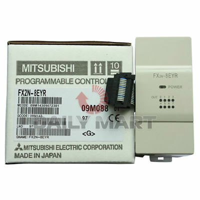 New MITSUBISHI Melsec Expansion Module Power Supply FX2N-8EYR