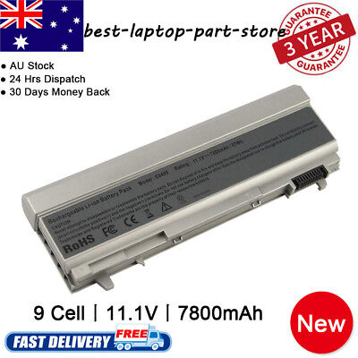 Battery for Dell Latitude E6400 E6410 E6500 E6510 PT434 PT435 FU268 Power Supply