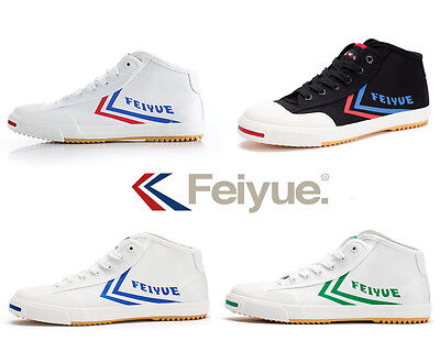 Unisex Hi-top Feiyue Shoes Martial arts Tai Chi kung fu Shoes Sporting  Sneakers 542b91ef7e51