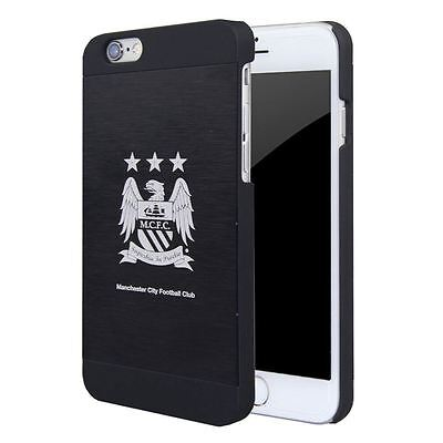 OFFICIAL MAN CITY MANCHESTER CITY FC Aluminium Apple iPhone 6 / 6S Case Cover