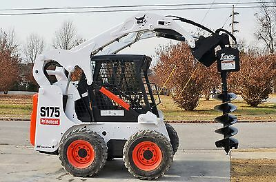 """Bobcat Skid Steer Attachment Lowe 750 Classic Hex Auger with 15"""" Bit - Ship $199"""