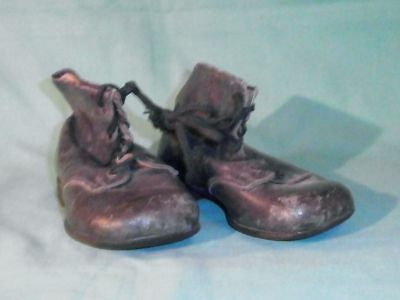 antique Victorian genuine leather children boots/1880/90s/Germany