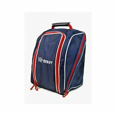 John Whitaker Burley Helmet Bag Red/White/Blue - Horse Riding Hat Bag
