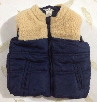 Cotton On Baby Boys Puffer Vest 3-6 Months 00