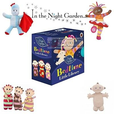 NEW In the Night Garden 4 Pack Of Bedtime Story Books For Baby Or Toddler
