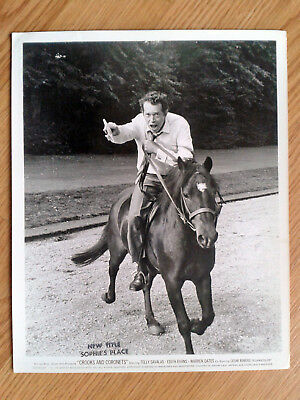 WARREN OATES vintage 8x10 candid still photo # CROOKS AND CORONETS 1969
