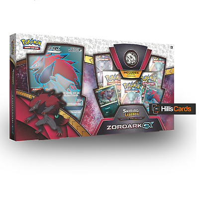 Pokemon Shining Legends Zoroark Special Collection Box: Booster Packs Promo Card