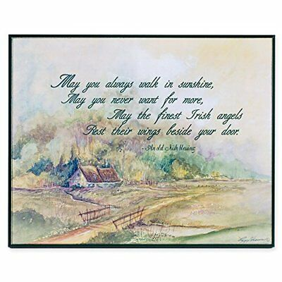 An Old Irish Blessing 8x10 In. Decorative Wall Plaque