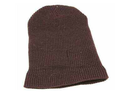 Bed Bath And Beyond One Size Waffle Beanie, Maroon