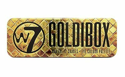 W7 Goldibox And The 12 Shades Golden Eyeshadow Palette