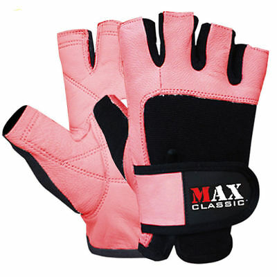 Ladies Weight Lifting Gloves Gym Training Body Building Fitness Straps CYCLING