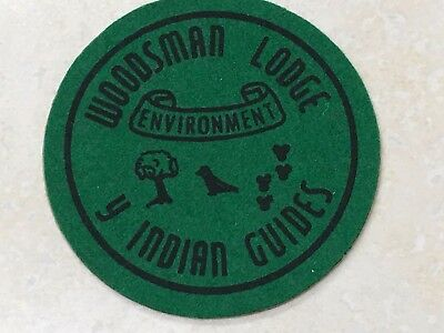YMCA Indian Guides Woodsman Lodge Patch - 3""