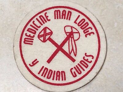 YMCA Indian Guides Medicine Man Lodge Patch - 3""