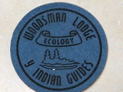 YMCA Indian Guides Woodsman Lodge Ecology Patch - 3""