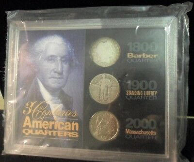 3 Centuries of American Quarters - ENN COINS